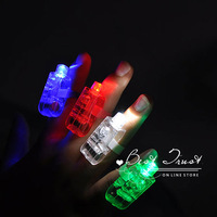 High Quality To Russia Only! 20pcs/lot  laser finger beams led finger light led ring for party clubs dancing Christmas Free ship
