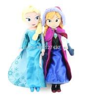 Free shipping ! Frozen Doll Princess Elsa Anna Plush Doll  Frozen Plush Toys Kids Dolls for girls
