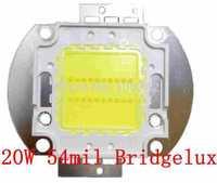 54mil Bridgelux Chip 20Watt High Power LED 10*2 2400-2600lm 30-36V 600-700mA