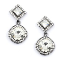 2014New Arrival Free shipping full crystal luxurious stud Earrings for women jewelry Factory Price