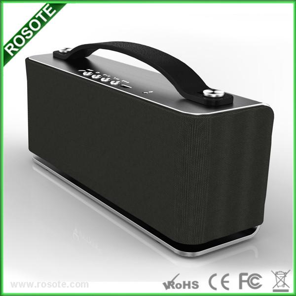 frete grátis v4.0 nfc aux bluetooth falante hifi mini multifuncional bluetooth car kit alto-falante(China (Mainland))