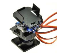 1.5 kg 1set Nylon FPV Pan/tilt Camera Mount + 2pcs SG90 9g Servo Retail Promotion Dropship + Free Shipping