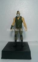 Free Shipping Wholesale 5pcs/pack Movie Action Figure Toys Batman:The Dark Knight Rises BANE 14cm PVC Action Figure Model Toy