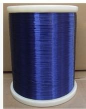 0.35 mm   blue enameled QA-1-130 new polyurethane enameled ,Copper Wire 200m  Free shipping(China (Mainland))