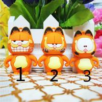 3 d Garfield u disk authentic special 32g 64g usb coffee fat cat cartoon creative gifts Usb flash drive pen drive
