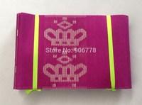 2014 Hot Pink Aso-Oke Headtie,New Crown pattern aso oke head tie,Fuschia pink headwrap and shawl,african headwrap,1pc/bag