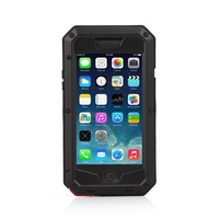 For iphone 6 4.7'' Waterproof Shockproof Case  Rugged Tempered Gorilla Glass Premium Aluminum Metal Cover