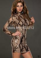 New arrive wholesale dresses women print dresses fashion long sleeve autumn winter dress vestidos casual free shipping