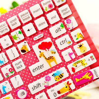 Korea cartoon backlit keyboard stickers affixed to a desktop computer keyboard laptop keyboard protective film