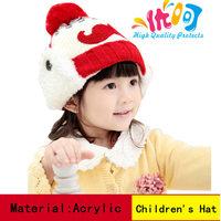 Free shipping ! new fashion Ear Protector Cap moustache Baby Hat Winter Beanie Children hats Cute Kids cap