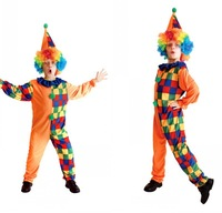 Children Cosplay Halloween costumes clown costume masquerade clown suit of clothes cos