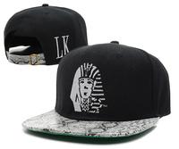 Last King cap bone Snapback cap for men Snakeskin Leopard brim Hip Hop hat LK Baseball caps women adjustable gorro hats 18styles