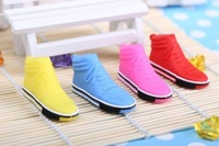 Free shipping  hot sale waterproof shoes model U disk 32g 64g usb flash drive with key ring pen drive pendrive