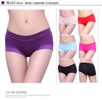 Free shipping Modal low-waist sexy lace panties Girls Seamless underwear female briefs