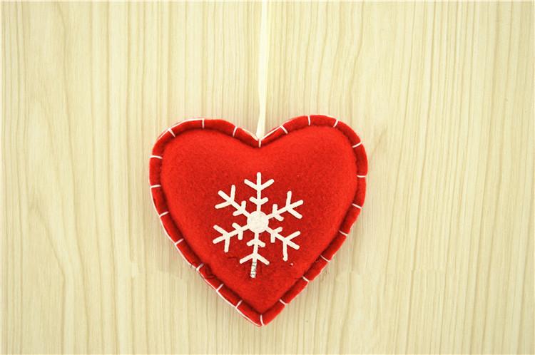 Heart Christmas Tree Ornaments Christmas Tree Ornament