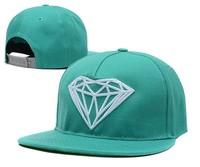 NEW Arrival bone Snapback cap for men Diamond hat snap back Hip Hop hat  Swag Baseball cap women adjustable 5 panel hats 12color
