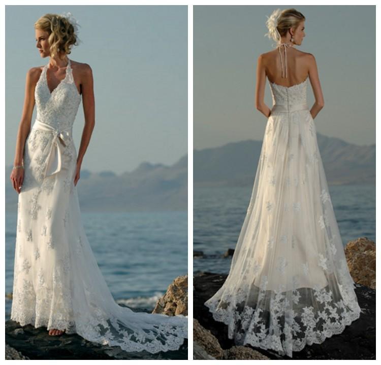 Halter Wedding Dresses With Low Back Low Back Wedding Dresses