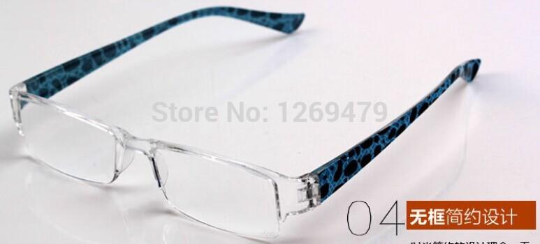 Free Shipping New Fashion Super Light reading glasses brand reading eyeglasses anti fatigue istant glasses +350 +3.50 901(China (Mainland))