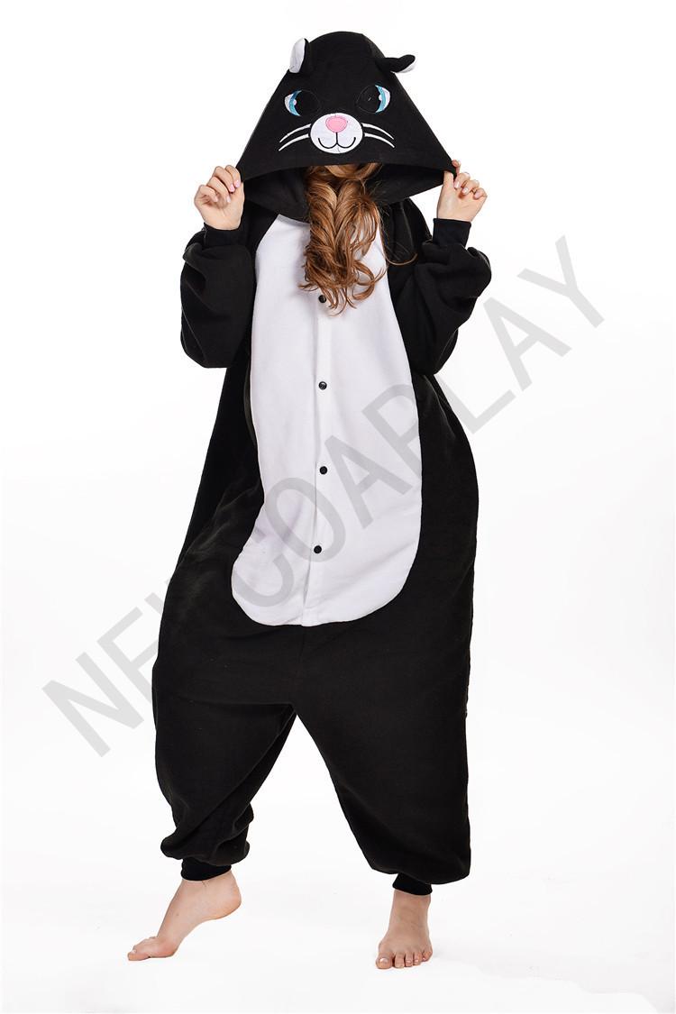 Fleece onesie animal cosplay party costume girls fancy dress costumes