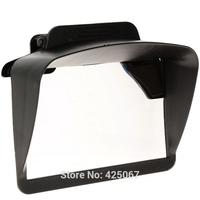 "Universal Plastic Sun Shade Visor  for  4.3"" 5"" Inch Car GPS Navigators Free Shipping"