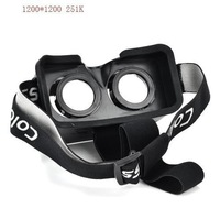 """free shipping 3D Glasses ColorCross Universal Google Virtual Reality 3D Video Glasses for 4~7"""" Smartphones Cardboard Oculus"""
