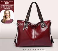 retail New fashional women  leather handbags  shoulder  messenger bags , woman casual cute hand bag