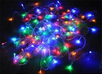 New 2014 Brand high quality NEW CHRISTMAS TREE WEDDING PARTY COLORFUL LED light 10M  Free Shipping