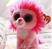 "Super cute Lion doll high 15cm (5.91 "") TY plush toys big eyes send their children the best gift LH103"