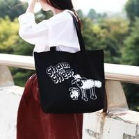 Free shipping BF050 The lamb design shopping bag shoulder bag storage bag 45cm*35cm