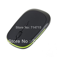 Slim USB Wireless 2.4G Mouse Optical Mice for Computer PC 100% Brand New