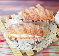 Artificial PU fake cream cup bread bread food  Kitchen restaurant decorated DIY wedding festival props toy