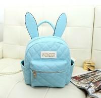 Best Quality Harajuku soft ice cream soft rabbit ears mini backpack small bag backpack