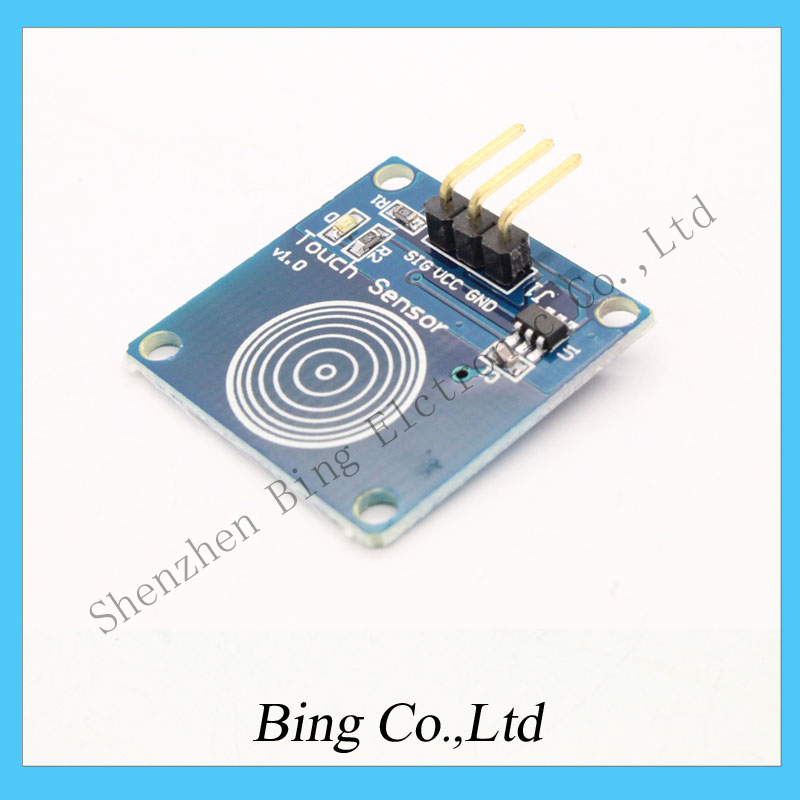 Hot Sale TTP223B Digital Touch Sensor Capacitive Touch Switch Module DIY For Arduino Wholesale(China (Mainland))