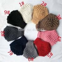 2014 New Winter Crochet Headbands For Women Corn Style Ladies Knitted Headband Fashion Women Headwrap Haidband 10 pcs / lot 1263