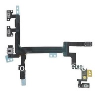 Power Button Switch On/Off Flex Cable Replacement Part for iPhone 5 5G Free shipping with track No.