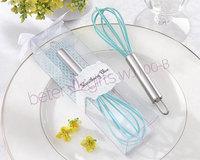 Free Shipping 100box Kitchen Whisk Unique Wedding Souvenirs WJ100/B