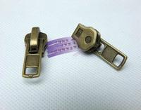 30pcs/lot 8# copper teeth zipper head zipper bag zipper garment zipper sliders