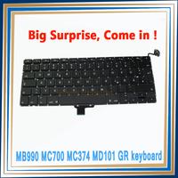 """New LAPTOP KEYBOARD FOR Macbook Pro 13"""" A1278 German Keyboard 2009~2012"""