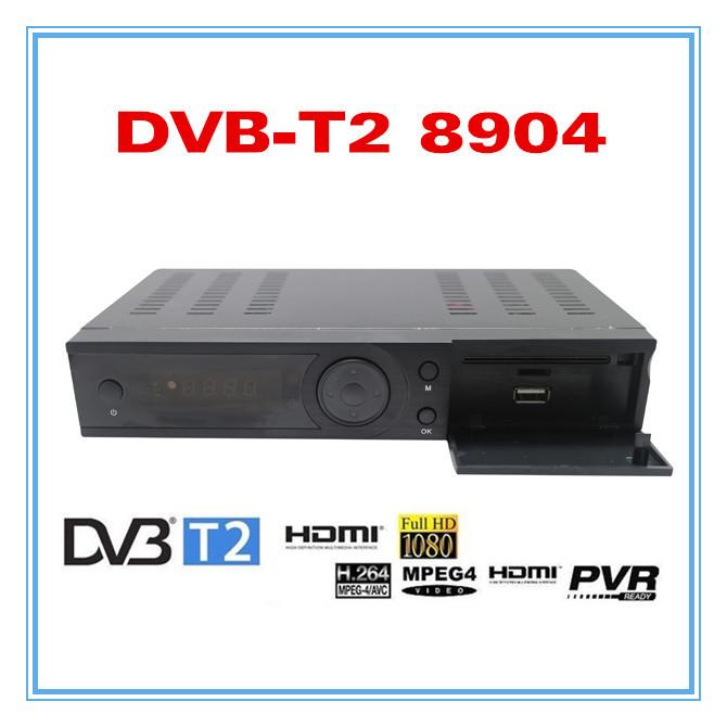 2014 FTA new arrival DVB T2 8904 1080P digital receiver freeview MPEG4/H.264 Digital Receiver(China (Mainland))