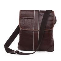 2015 New Men's Messenger bag 100% High Quality Genuine Leather Bag Fashion Shoulder tablet bag for men Casual Vintage bags