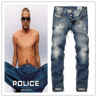 Free shipping! 2014 hot high quality fashion casual men's jeans,disel famous brand jeans men, Frayed jeans,street fashion jeans