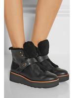 2014 winter genuine leather women boots, fur inside fashion footwear for girl P32