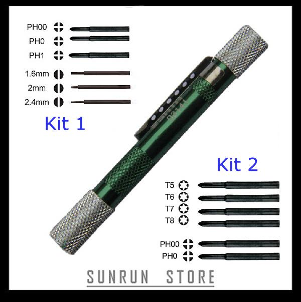 6 in 1 SATA Tool Sets Word , Pen Screwdriver Mini Screwdriver Phillips Screwdriver 03141/03142(China (Mainland))