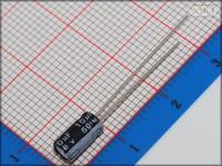 100Pcs 4mm*7mm 10uF 50V Through Hole Alumilum Electrolytic Capacitor