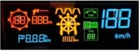 Wholesale 4 inch big size Driving Head Up Display Sun visible OLED screen HUD transparent display screen