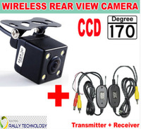 CCD Car Wireless Rear View Camera With Video Signal Transmitter Receiver Kit For Car DVD Parking Monitor System