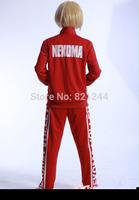 Haikyuu!! Kozume Kenma Saundo no Uma High School Uniforms Cosplay Costume Jacket Coat hoodies suit