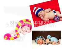 11/11 new 2014 ELF Newborn Hat Baby Pixie Elf Christmas Beanies,Handmade Crochet Photography Props Baby Hat baby 0-12 months cap