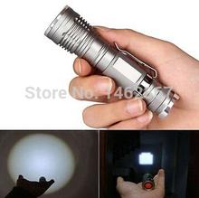 new mini UltraFire CREE Q5 LED Torch 1200 Lumen Light Flashlight Aluminium alloy Zoomable(China (Mainland))
