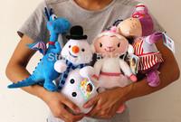 Free shipping 4pcs/lot 30cm=11inch Doc McStuffins stuffed dolls set